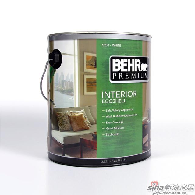 百色熊优质室内蛋壳光涂料-3