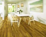 得高karelia三层实木地板 三拼绿柄桑