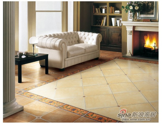 金意陶瓷砖印象歌德客厅仿古砖-0