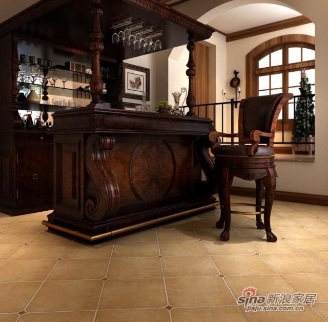 金意陶瓷砖印象歌德客厅仿古砖-1