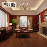 博典实木复合木地板榆木多层浮雕地板地暖地热专用厂家直销 JCFD202