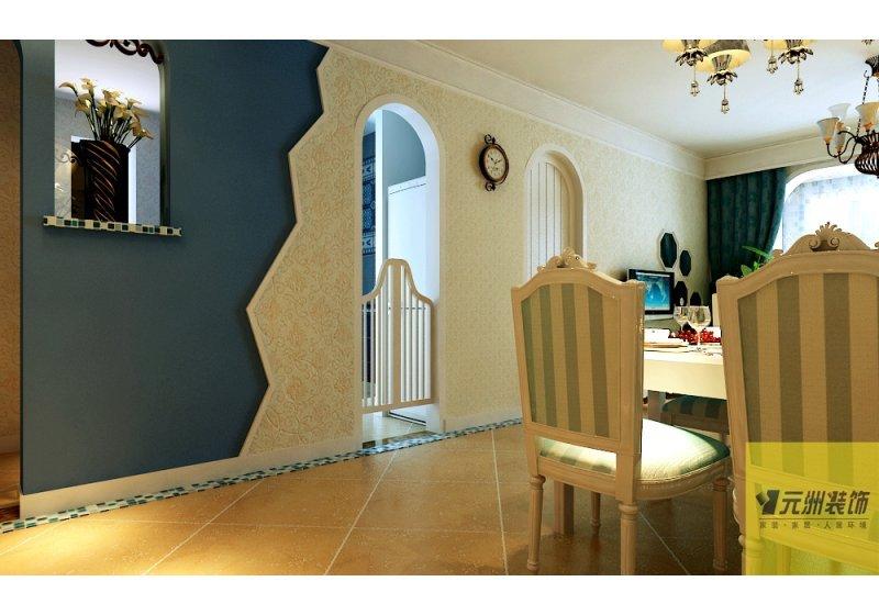 本案意在用现代的表现手法体现地中海风格的韵味,营造出简洁,温馨,的家居环境。