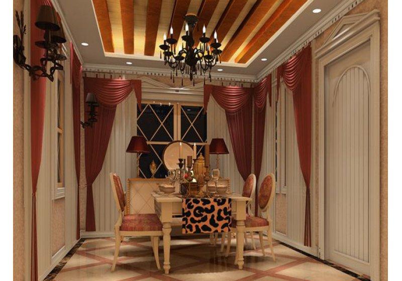 餐厅:是加盖的独立空间,利用原始的装饰结构做装饰,最求室内外的和谐。