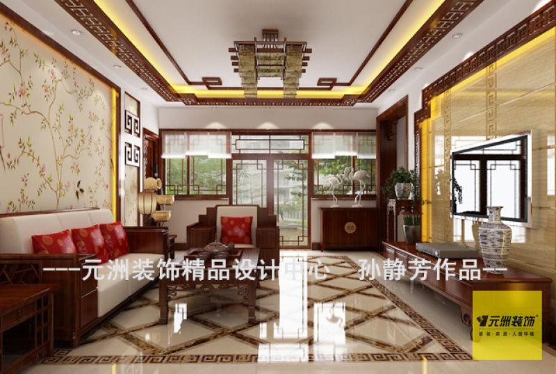 滦州古城别墅装修设计实例