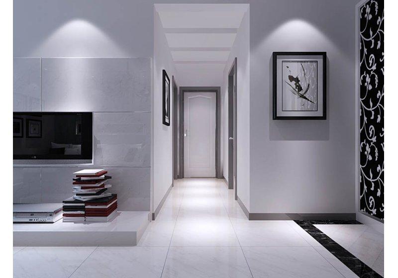 本案的屋主是一对即将步入婚姻殿堂的年轻人,想要的居家风格明确,定调于黑白灰的现代时尚住宅,表現出了居住者對於生活品味的重視