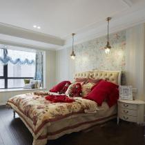 卧室全景,非常温馨大气