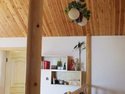 楼梯两边的墙上以后预备贴N个相框