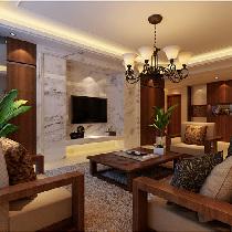 一家三口8.3万装修浪漫温馨东南亚144平米润泽公馆