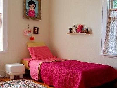 靓丽的女生房