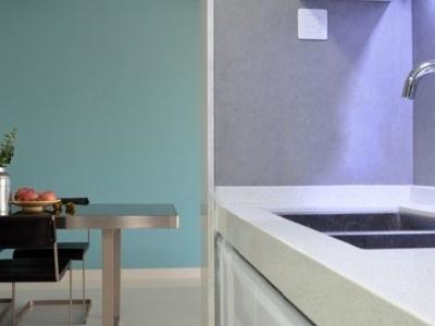 突破传统卧室透明墙 清爽120平简约新房