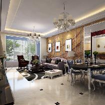 9.6万打造128平与众不同的浪漫婚房