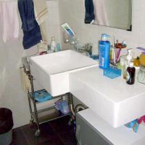 超级简单卫生间,好像有点太简单了
