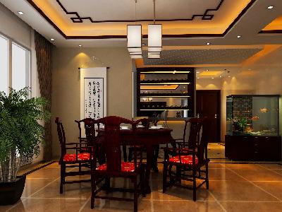 设计理念:设计师在设计过程中不但要精致与实用兼具,更希望通过对餐厅整体布局的把握,传达出对生活的重视和对怀旧的留念。 亮点:餐厅连着吧台,平时二人世界也可以小情调下。