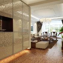 中式风格装修玄关