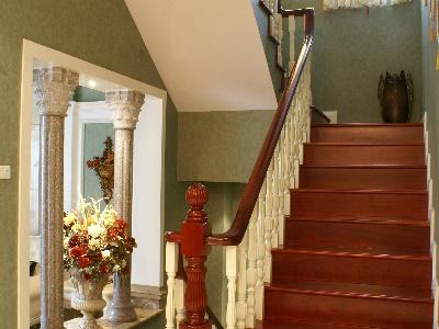 楼梯局部特写