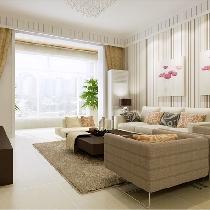 小夫妻婚房 建邦华庭-4万2打造70平米时尚温馨现代风