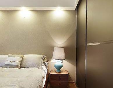 床头灯,时尚美观。