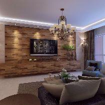 哈尔滨实创9万打造罗马公园95平港式家居风情