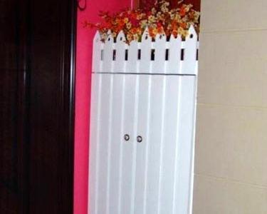 再来张门口的花花鞋柜
