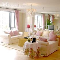 粉色田园,温馨舒适