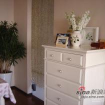 另一个方向,竹帘子在宜家买的,大家都挺喜欢的),竹帘子后面是厨房的一个拐角