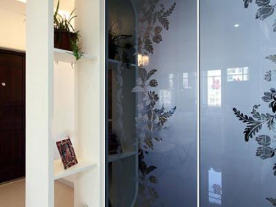 105平现代时尚婚房 童话般的设计