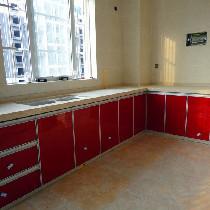 瓷砖灶台橱柜效果图