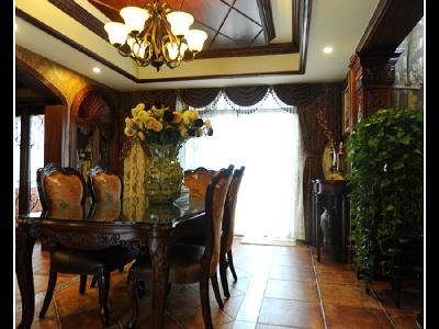 美式风格 餐厅