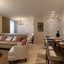 客厅和餐厅装修效果图