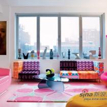 """纽约设计师的""""漫游仙境""""公寓室内设计"""
