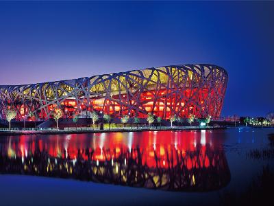 冠军磁砖—北京鸟巢体育馆