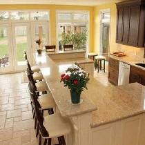 厨房装修设计-厨房样板间装修-长沙实创装饰