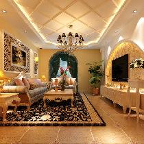 16万打造大宁山庄160平米奢华欧式力与美的结合