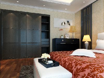 相关衣柜搭配:索菲亚衣柜,实木贴皮现代中式。