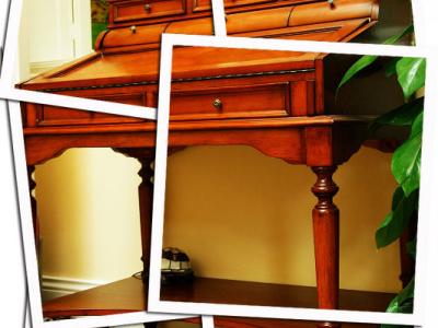 双桥做的书桌