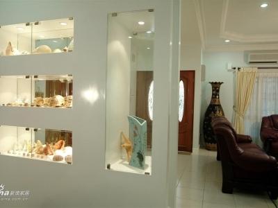 副客厅和我的另一个展示柜,漂亮的贝壳