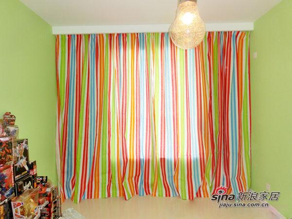 儿童房的窗帘真心漂亮