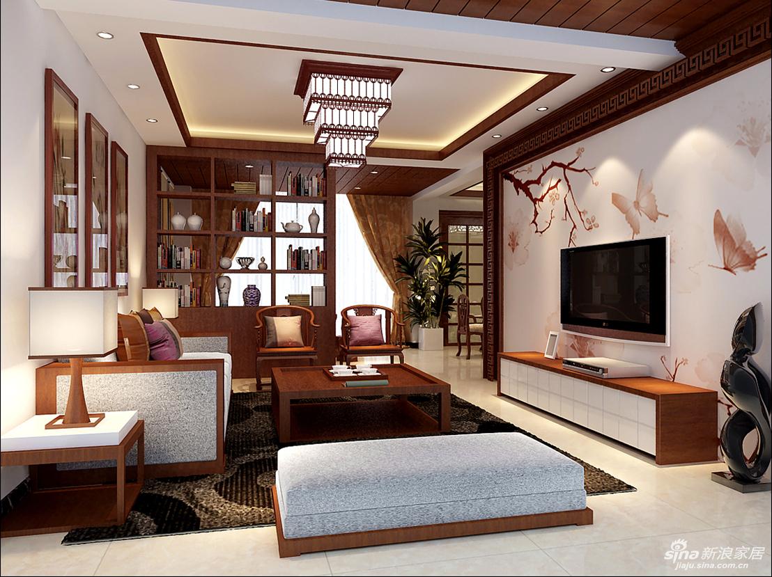 本案例在户型上因为是二次装修,原来装修全部推倒重建,且房屋的年代比较长,其房高及梁的位置的处理上是一件比较棘手的问题,天花上做了一些木饰面条形的装饰板,做天整体装饰风格的延续。