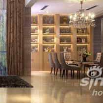 《淳净.暖暖爱》------万科东海岸别墅样板房设计