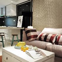 80㎡现代简约2室1厅1厨1卫混搭实景赏析