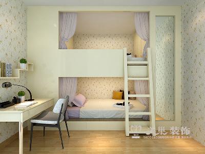 郑州建海绿荫半岛三室两厅装修效果图——儿童房设计