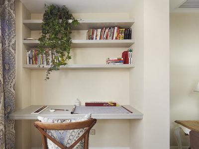 阳台变成书房