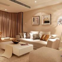 现代风格质感唯美家居 16图秀92平清新浪漫婚房