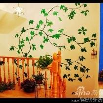 坐在我心爱滴沙发上看.嘿嘿喜欢绿色的叶子