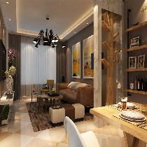 此方案的主要以现代混搭风格为主,概念上的风格,低调,有内涵。