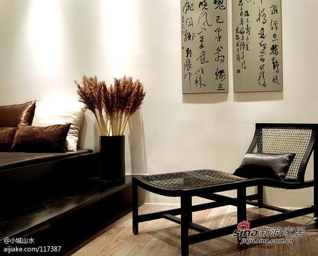 150平现代中式美居 父母的淡雅归宿