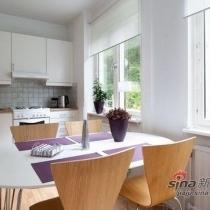 温馨自然 北欧风格98平四室公寓的浪漫