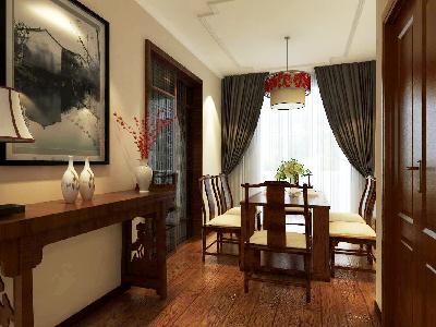 餐厅装修中式风格,古香古色