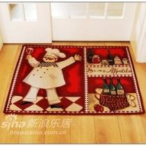 网上买的外贸地毯,哈哈~厨房主题