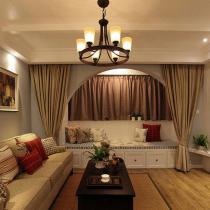 9装110平简约美式风 三口之家的温暖空间